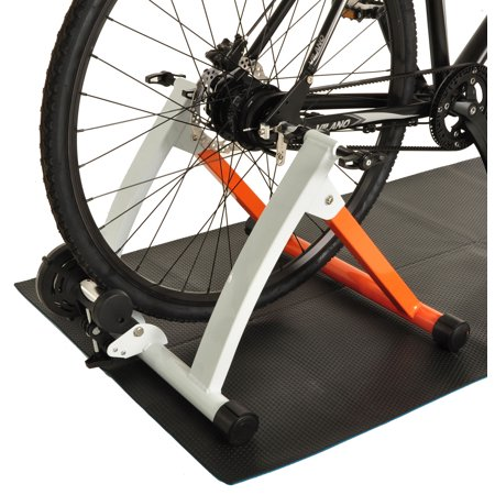 aef6b0fd50 Conquer Indoor Bike Trainer Portable Exercise Bicycle Magnetic Stand -  Walmart.com