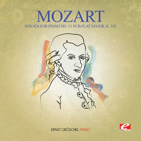Mozart - Sonata for Piano No. 13 in B-Flat Major K. (Mozart Sonata In B Flat Major K 570)