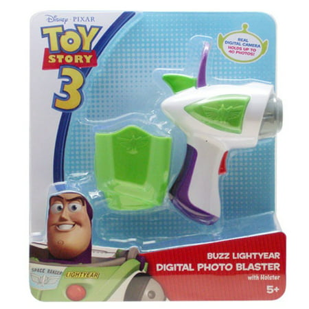 Disney Toy Story 3 Digital Camera Blaster with - Blaster Holster