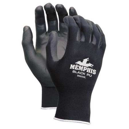 Mcr Safety Size XS Coated Gloves,9669XS
