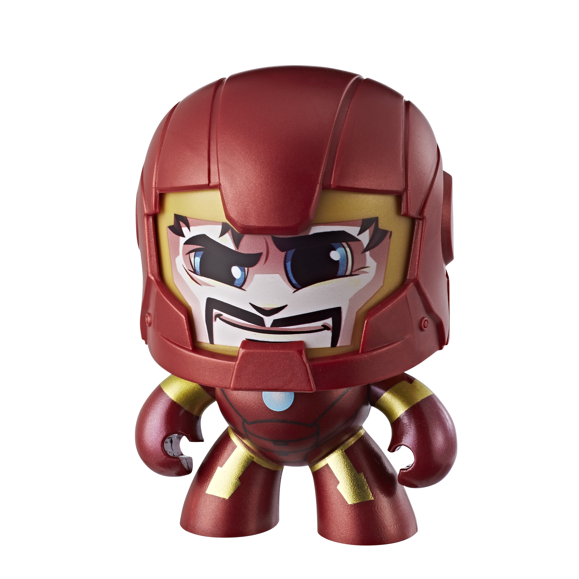 Hasbro Marvel Mighty Muggs Cool head Change Face Action Figures Toy Captain