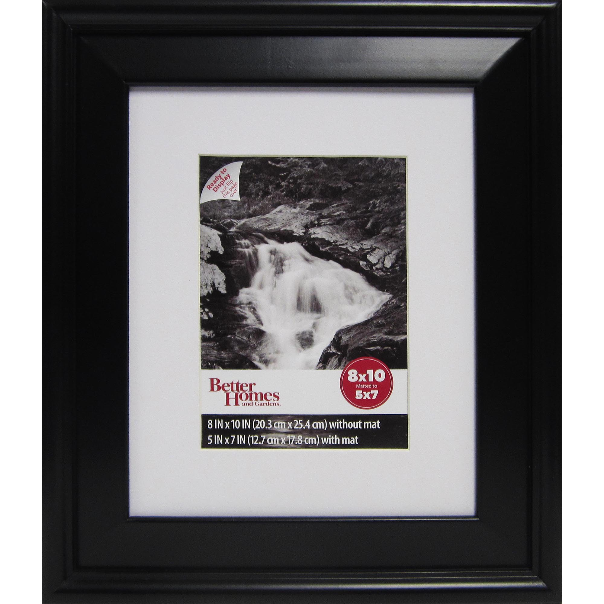 Better Homes and Gardens Family 8x10 Matted Picture Frame