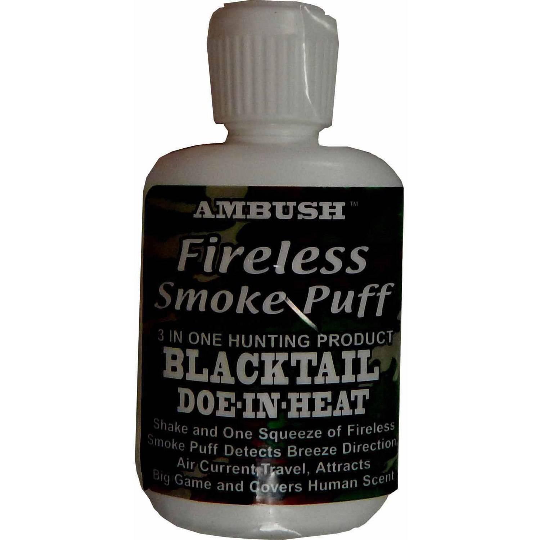 Moccasin Joe Smoke Puff Blacktail Deer Scent