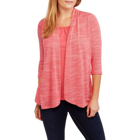 White Stag Womens 2Fer Flyaway Cardigan And Tank