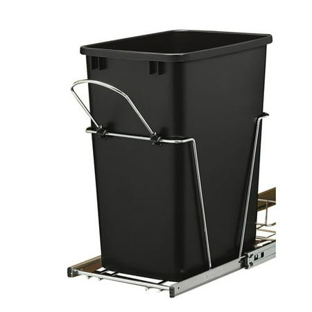 Rev-A-Shelf 8.75 Gallon Open Pull Out Trash Can