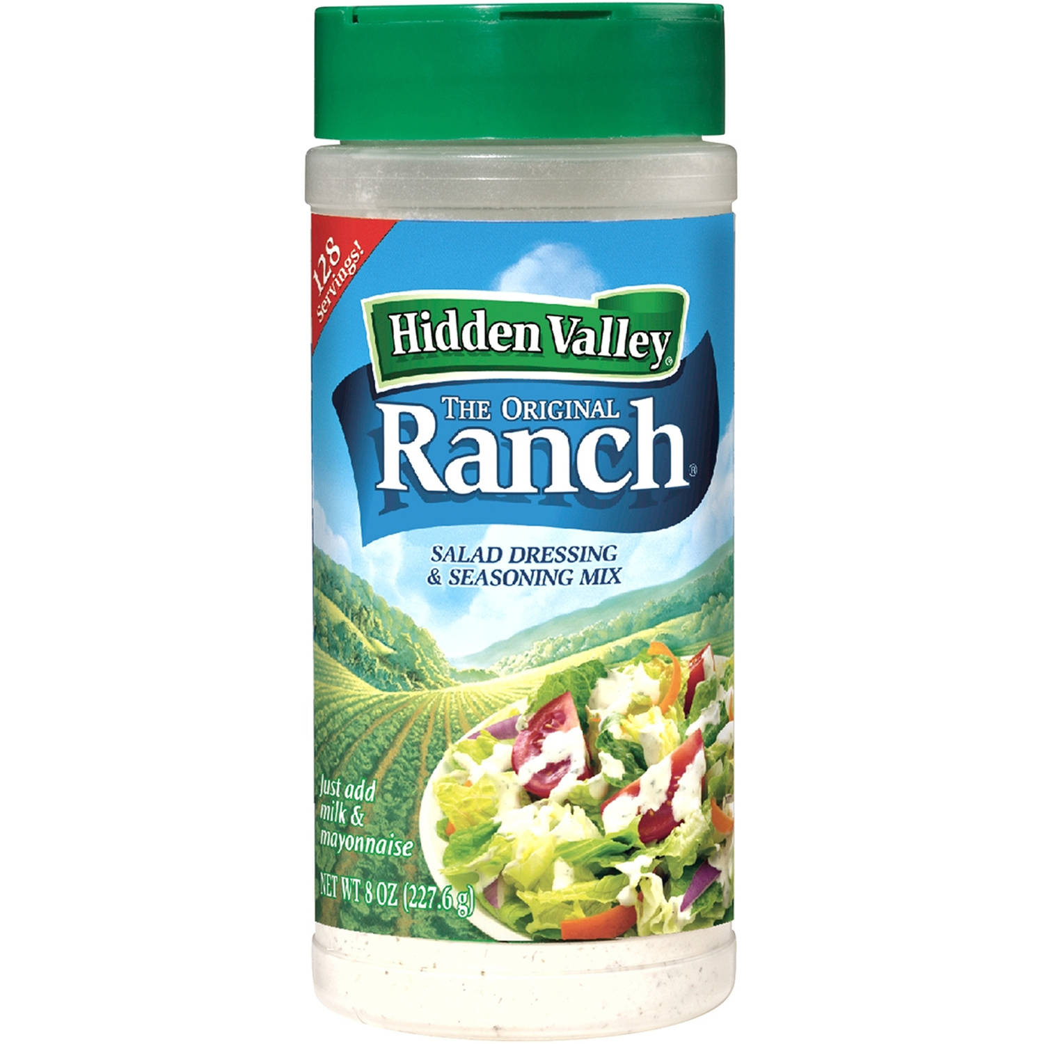 Hidden Valley Original Ranch Seasoning and Salad Dressing Mix, 8 Ounces