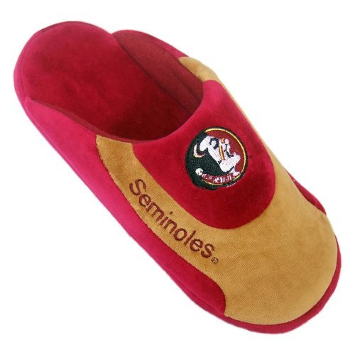 Comfy Feet NCAA Low Pro Stripe Slippers - Florida State Seminoles