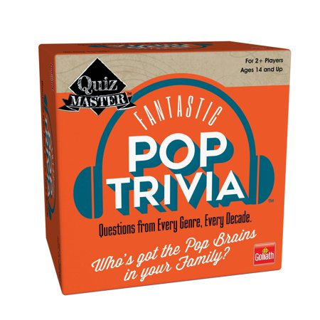 Goliath Games Quiz Master Pop Trivia Game](Halloween Trivia Adults)