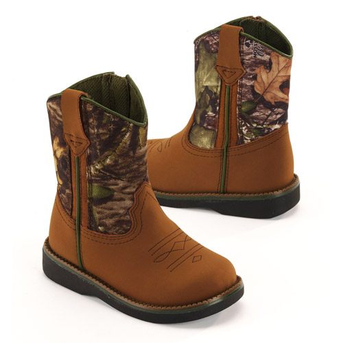 Faded Glory - Toddler Boys' Warren Cowboy Boots - Walmart.com