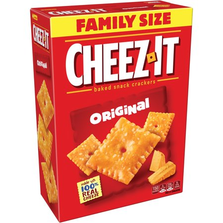 Cheez It Original Baked Snack Crackers 21 Oz  Box