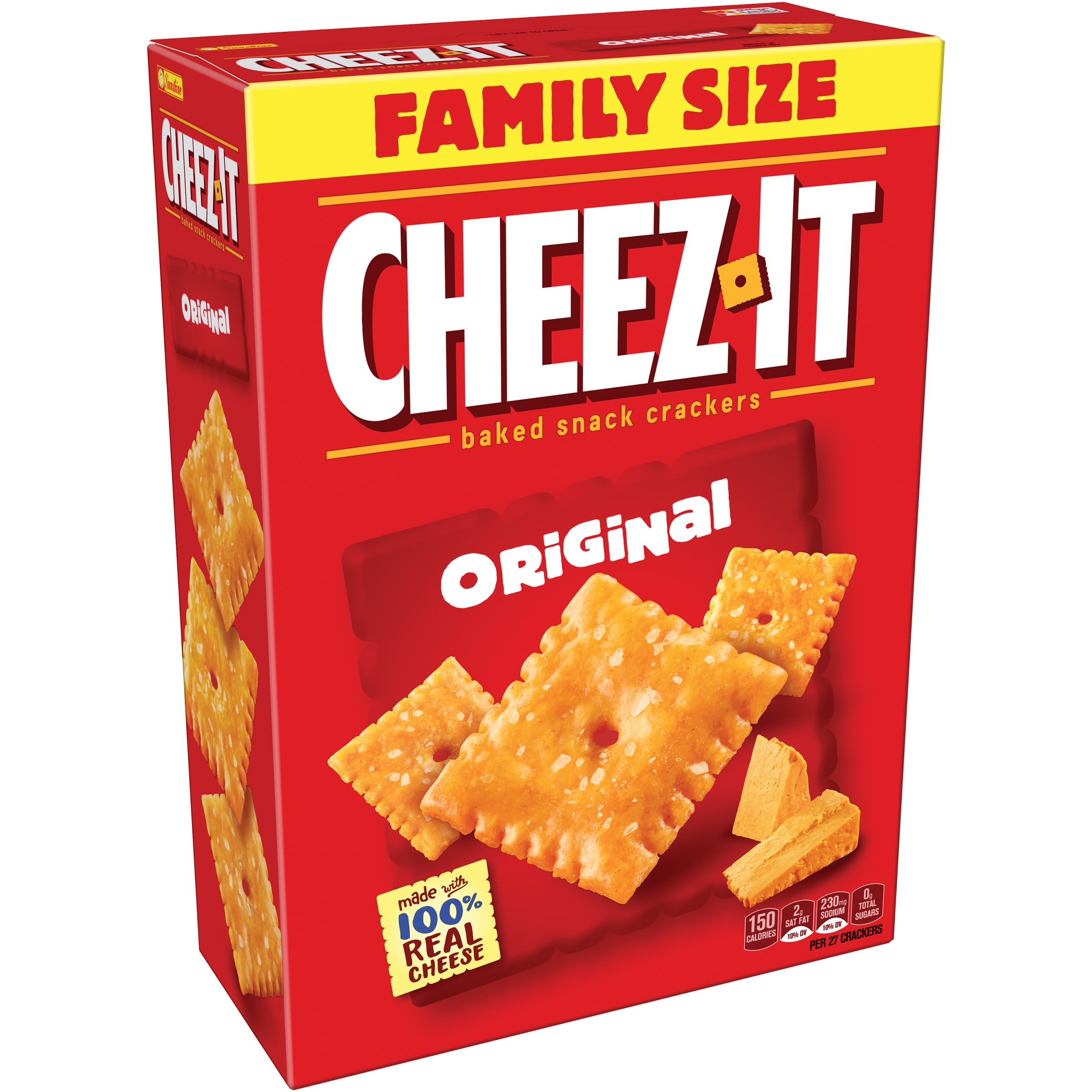 Cheez-It Original Baked Snack Crackers 21 oz. Box