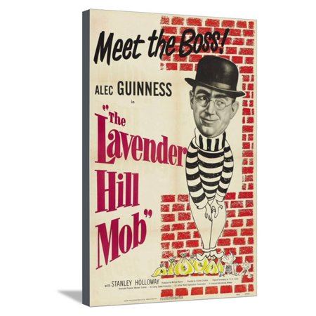 The Lavender Hill Mob, 1951 Stretched Canvas Print Wall (Mlb Canvas)
