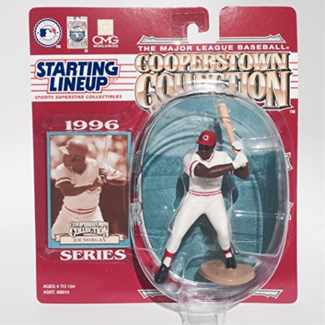 Starting Lineup 1996 Series MLB Cooperstown Collection Joe Morgan