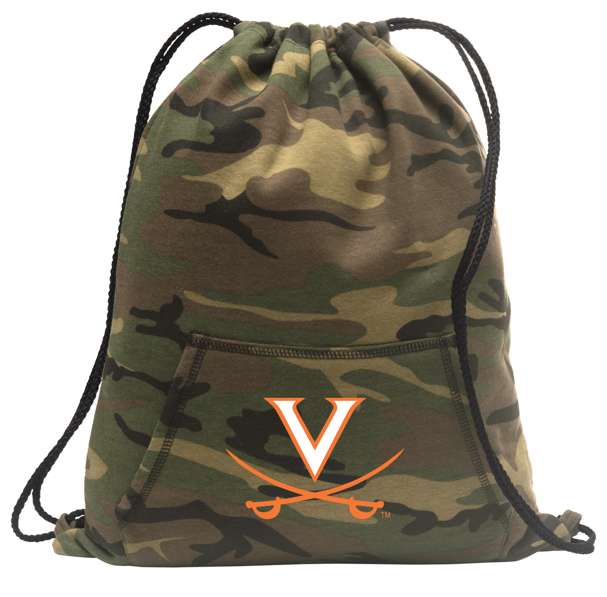 University of Virginia Drawstring Bag Camo University of Virginia Backpack Cinch Pack for Boys Girls Men Women