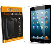 [2-Pack] For iPad 10.2 - SuperGuardZ Tempered Glass Screen Protector, Anti-Scratch, 9H Hardness, Anti-Bubble, Anti-Shock