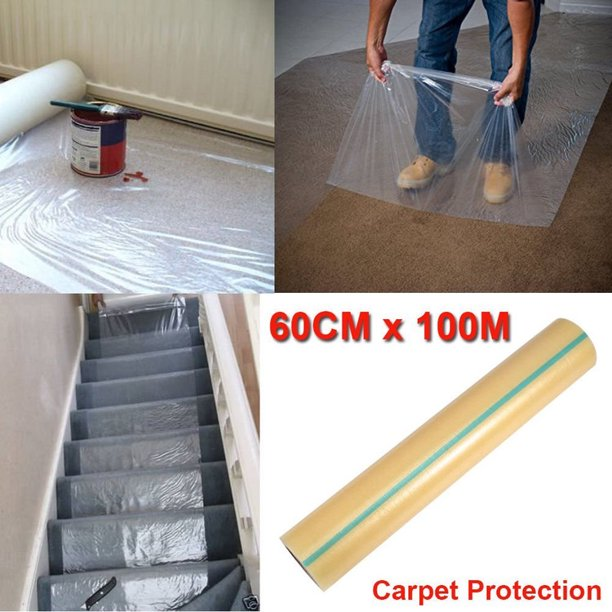 Carpet Film Protector 24 328 Plastic Protective For