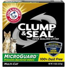 Cat Litter: Arm & Hammer Clump & Seal MicroGuard