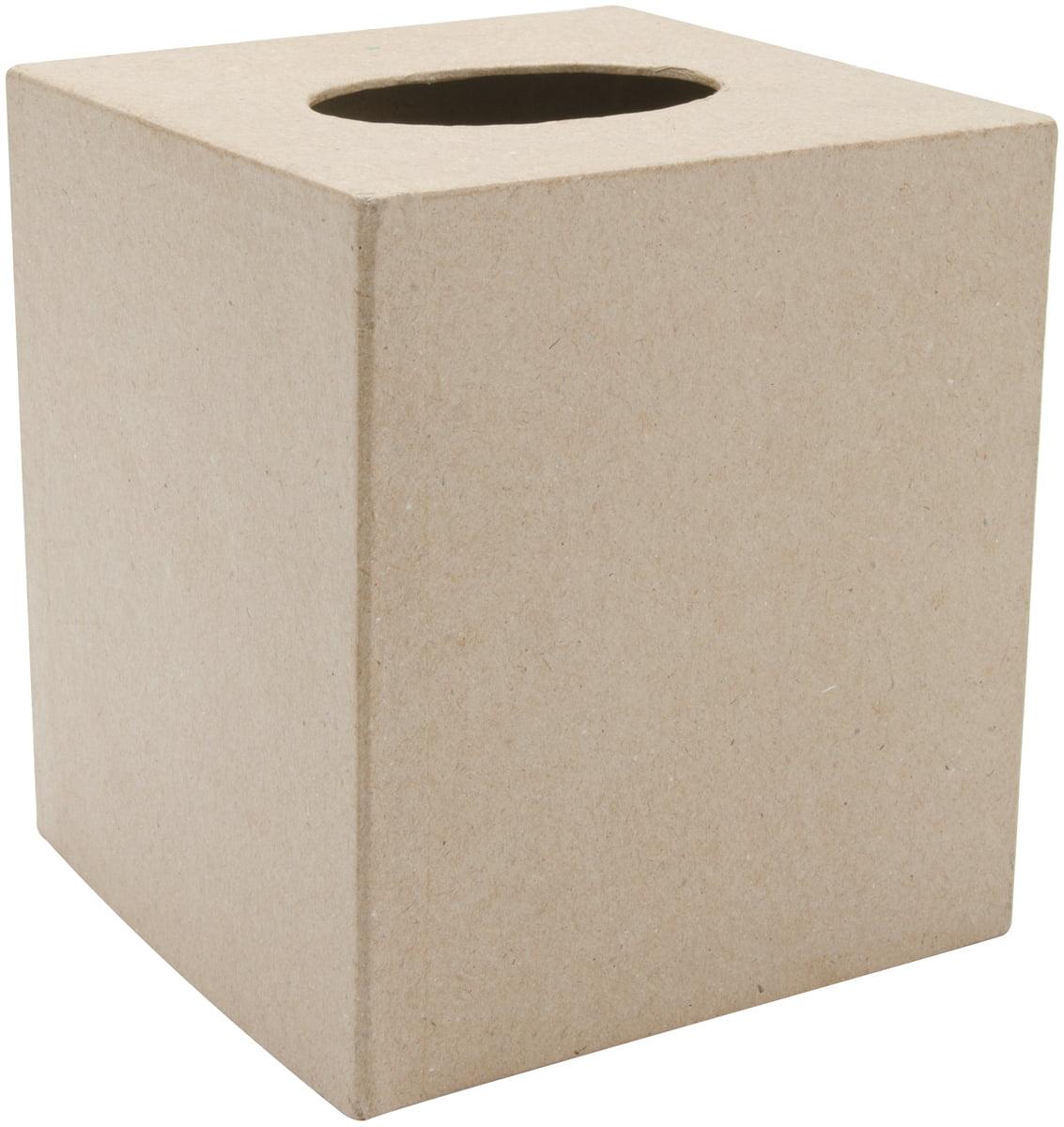 Asian Bird Paper Mache Tissue Box Cover