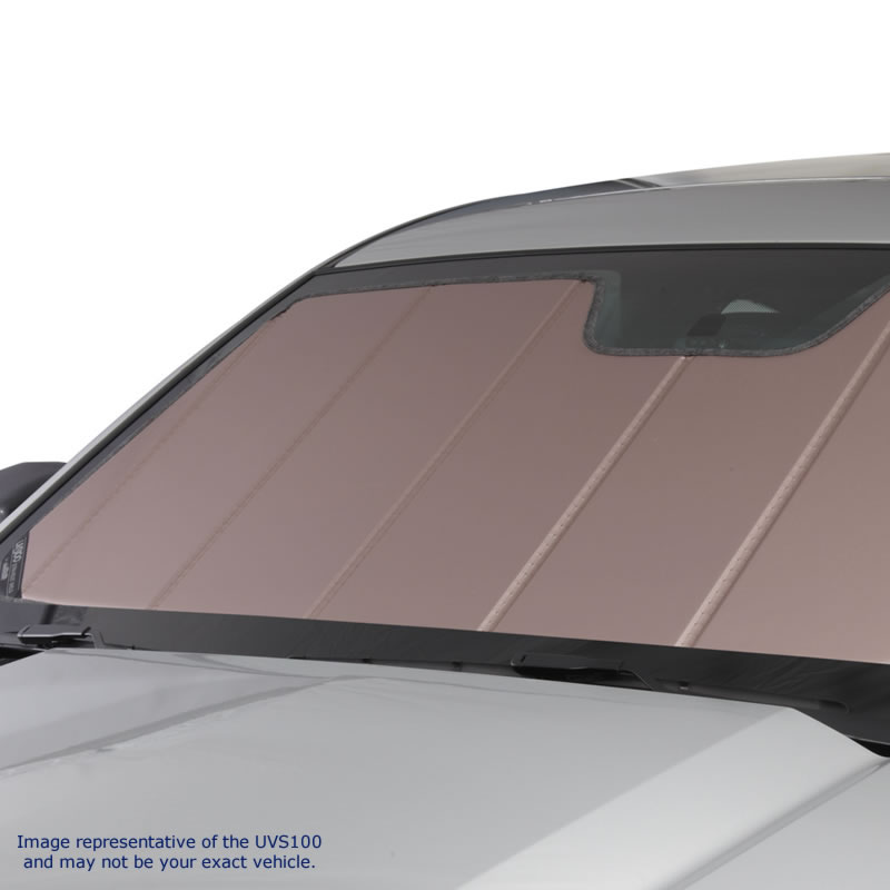 Windshield Sun Shade -UV10915RO fits Nissan Quest S,SE,SL,Base 2004,2005,2006,2007,2008,2009 (2-piece shield)