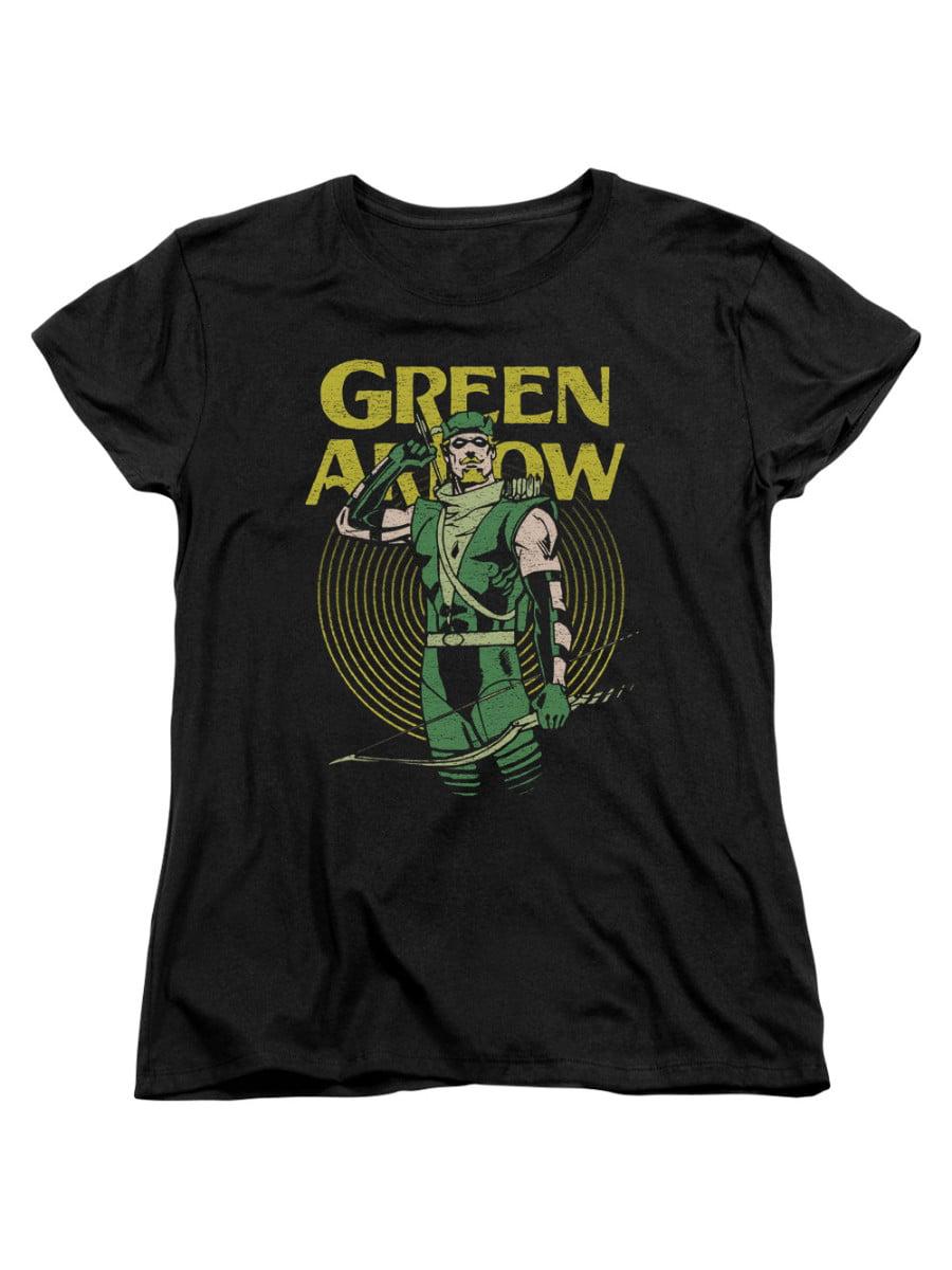 DC - Green Arrow DC Comics Superhero Hypno Target Women s T-Shirt Tee -  Walmart.com 517a02b034