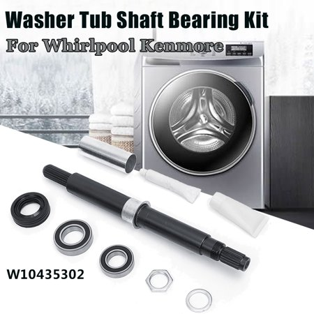 Washer Tub Cover - W10435302 Washer Tub Shaft Bearing Kit For Whirlpool Kenmore PS3503261 AP5325033