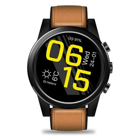Zeblaze Thor 4 PRO 4G LTE Smart Watch Phone Android 7.1.1 Quad Core 1GB+16GB 320*320 Pixel 5MP Camera 600mAh 1.6-Inch ()