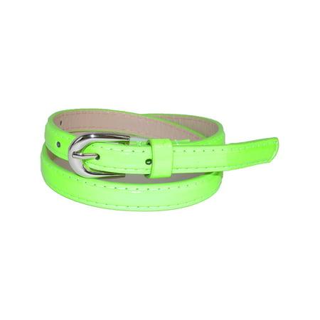 8 Kids Accessories Belts - CTM Kid's Skinny Dress Belt