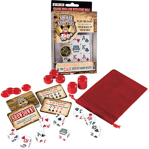 Trademark Poker Square Shooters Basic Game Set