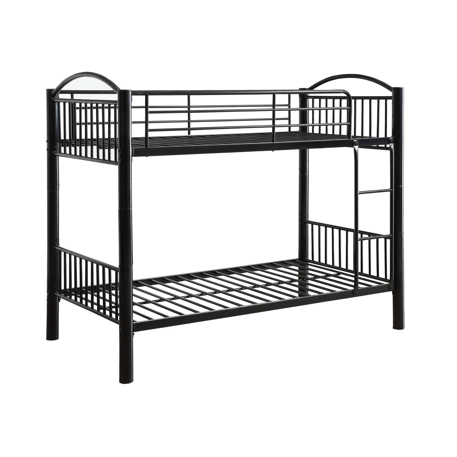 ACME Cayelynn Twin over Twin Bunk Bed, Black