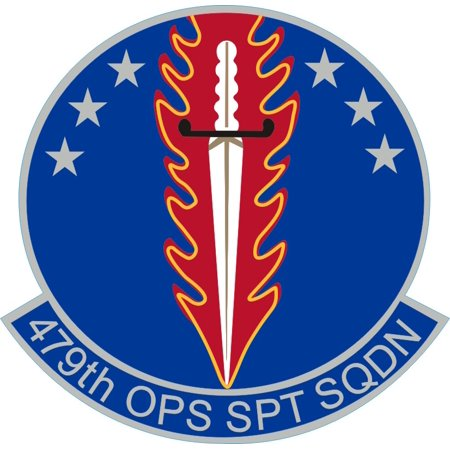 3.8 Inch AETC 479 OSS Air Education Training Command USAF Decal