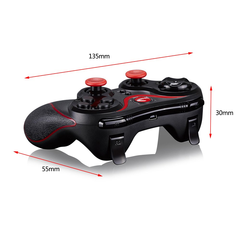 HJY Wireless Bluetooth Gamepad Game Controller Gamepad Joystick T3 For Smartphones With USB Cable For Android Platform Games