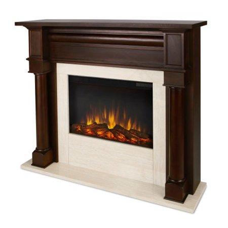 berkeley indoor electric fireplace dark walnut