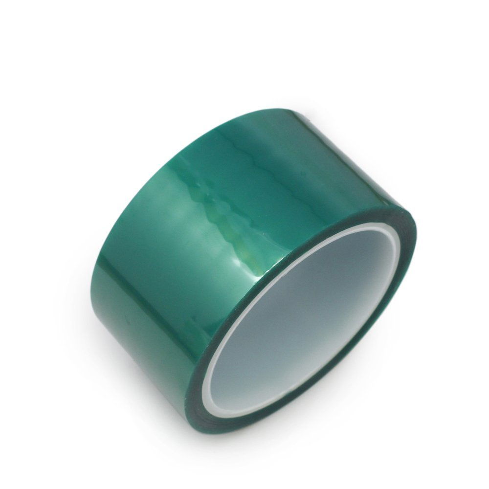 1 Roll 30mm x 100ft Green PET Tape High Temperature Heat Resistant