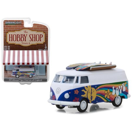 1971 Volkswagen Type 2 Panel Van with Surfboards