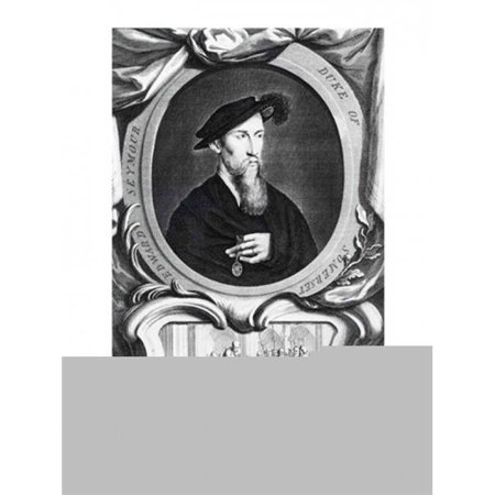 Portrait of Edward Seymour 1536 Detail Poster Print by Hans Holbein - 24 x 36 in. - Large - image 1 de 1