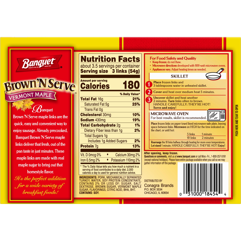 Banquet Brown 'N Serve Frozen Side