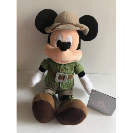 Disney Parks 9 inc Mickey Mouse Safari Plush New with Tags Disney Gourmet Mickey Mouse