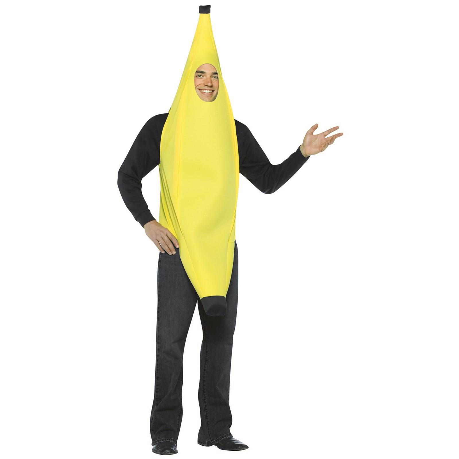 light weight banana adult halloween costume - walmart