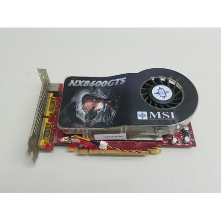 Refurbished MSI NVIDIA GeForce 8600 GTS NX 256MB GDDR3 SDRAM PCI Express x16  Video Card (R9 280x Video Card)