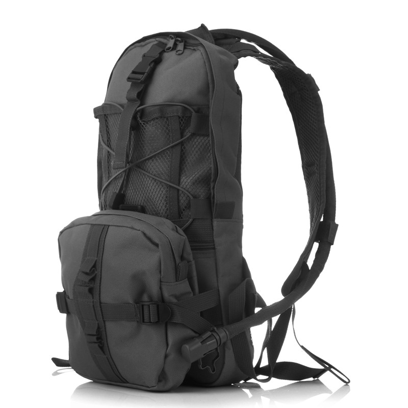 Hydration Pack Backpacks with 2.5L Bladder for Hiking, Biking, Running Black Color:black by LinTimes