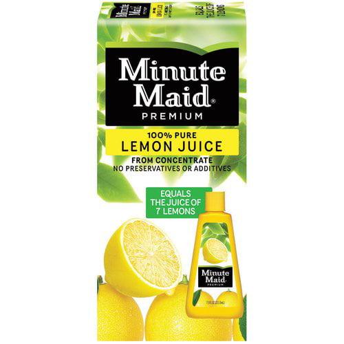 Minute Maid Premium Lemon Juice, 7.5 fl oz
