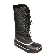 Waterproof Women Winter Snow Boots Fashion Warm Faux Fur Lined Shoes Lace Up Nonslip Winter Shoes Gift