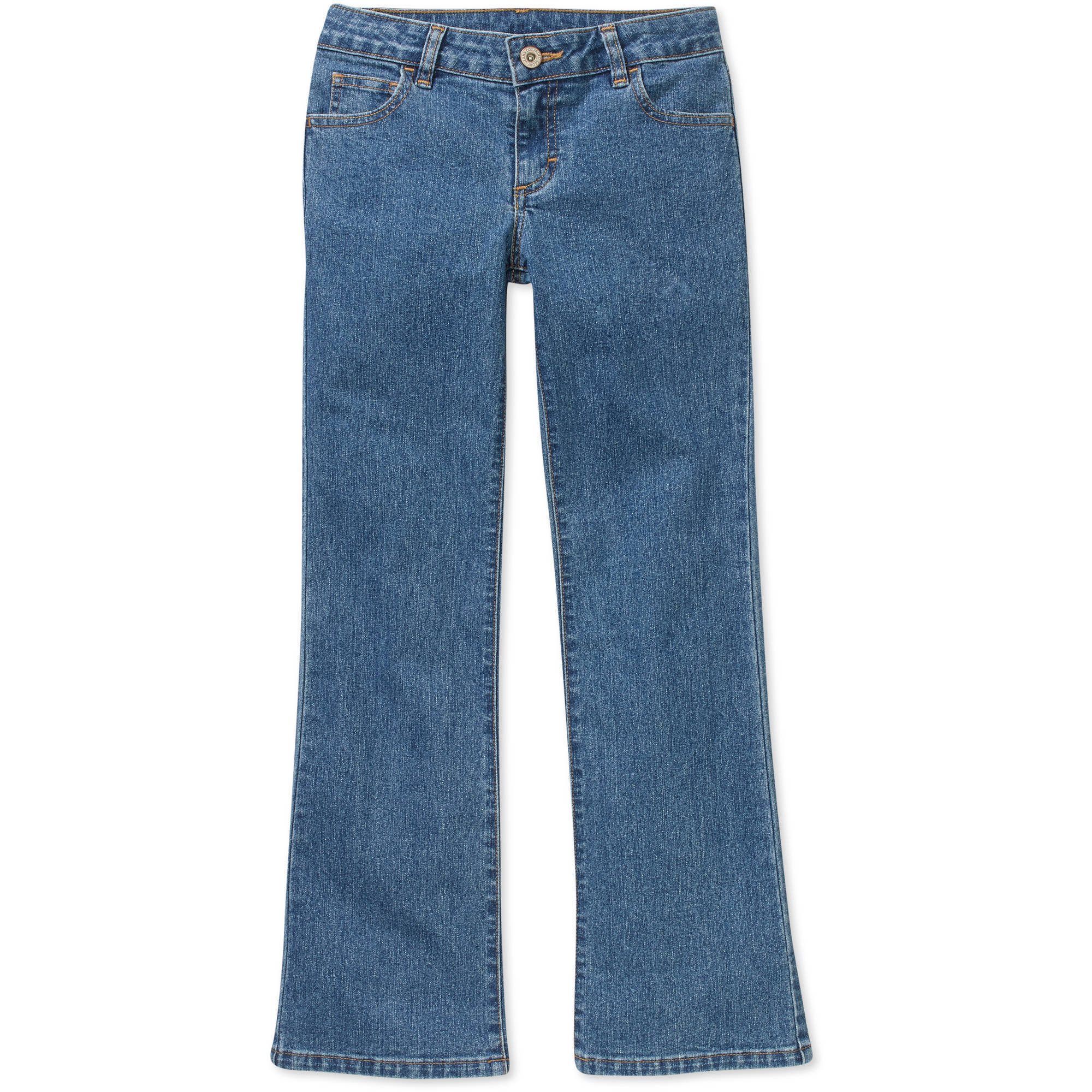 Faded Glory Girls' Bootcut Jeans - Walmart.com