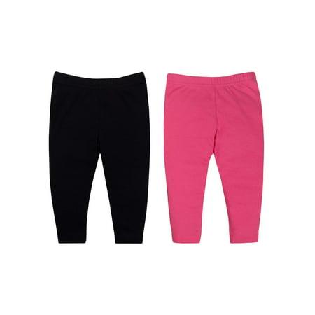 Baby Girl Knit Pants, 2-Pack (Pee Wee Girls 180 Pants)