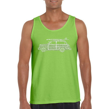 d541d8f867fc9c Los Angeles Pop Art - Men s tank top - woody - classic surf songs -  Walmart.com