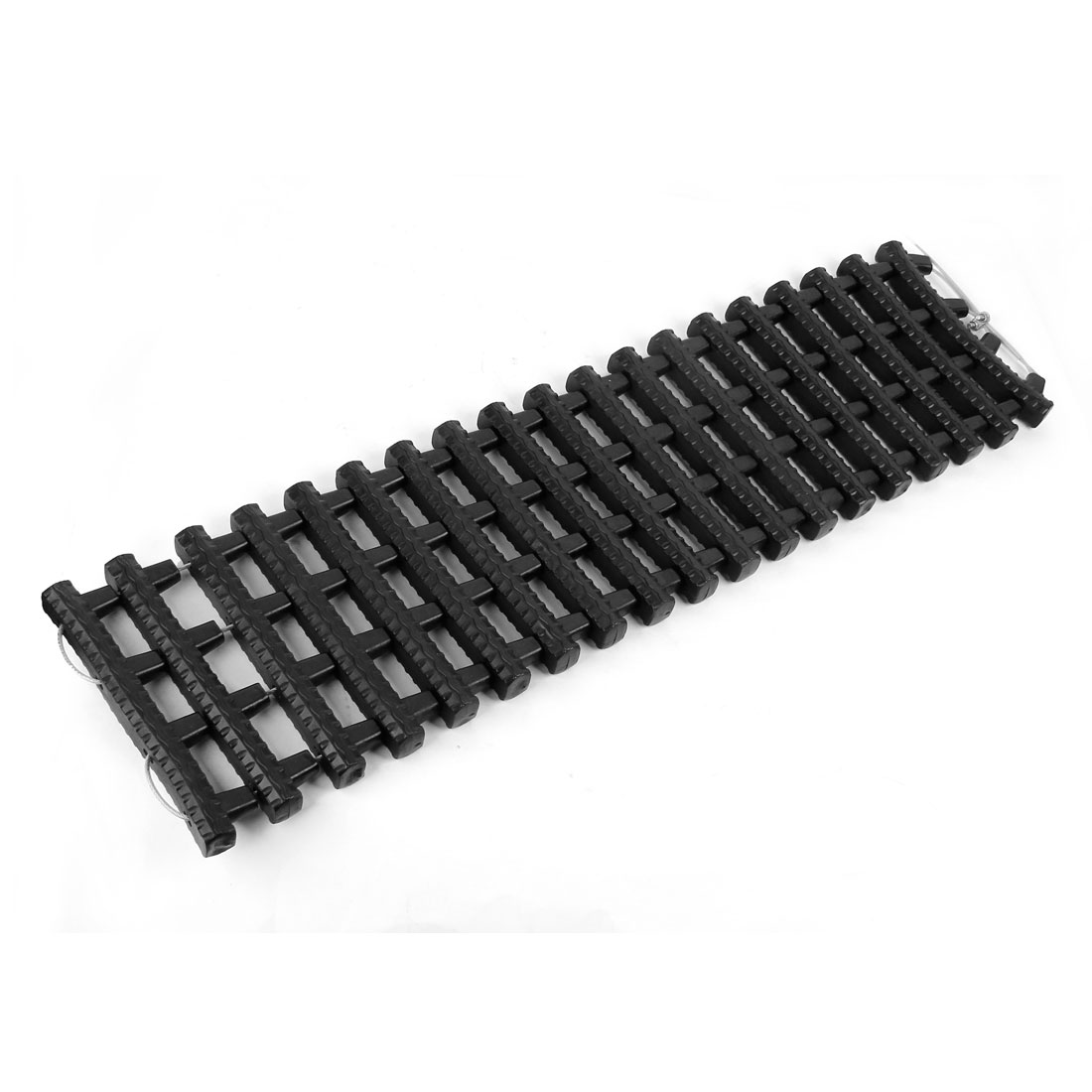 Black Tyre Grip Rubber Recovery Tracks Snow Mud Sand Rescue Gripper Escaper Mats