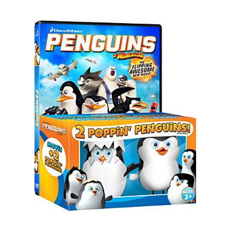 Penguins Of Madagascar (DVD + 2 Poppin' Penguins) (Widescreen)