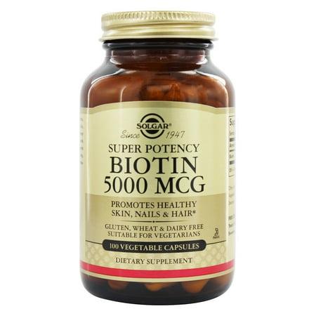 Solgar - Biotine super 5000