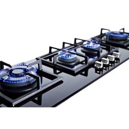 Summit Appliance Summit 43'' Gas Cooktop with 4 Burners Biscuit Gas Cooktop Appliance
