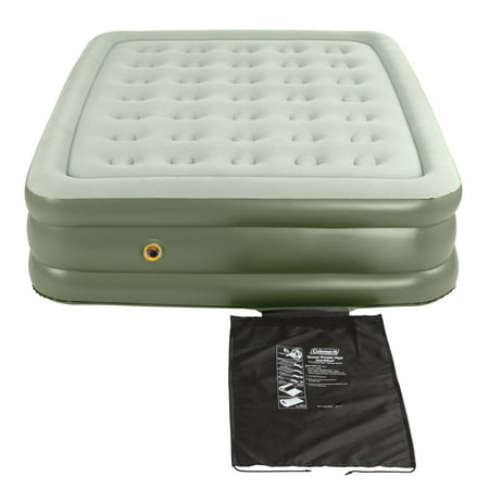 Coleman Double-High SupportRest Air Mattress for Indoor or Outdoor (Coleman Twin Double High Air Mattress With Pump)